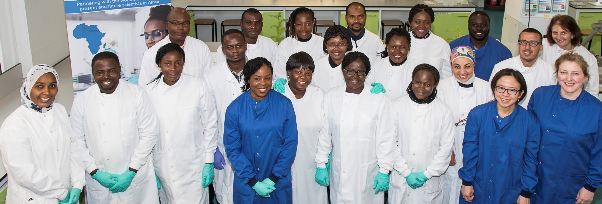 Carol, Colleagues and Trainees from Africa_Cropped
